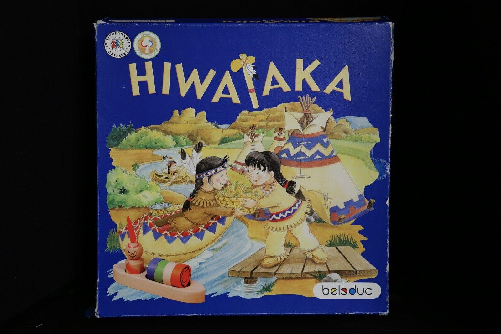 Beleduc Hiwaika  Wooden tavola giocoSUPER RARE   prodotto di qualità