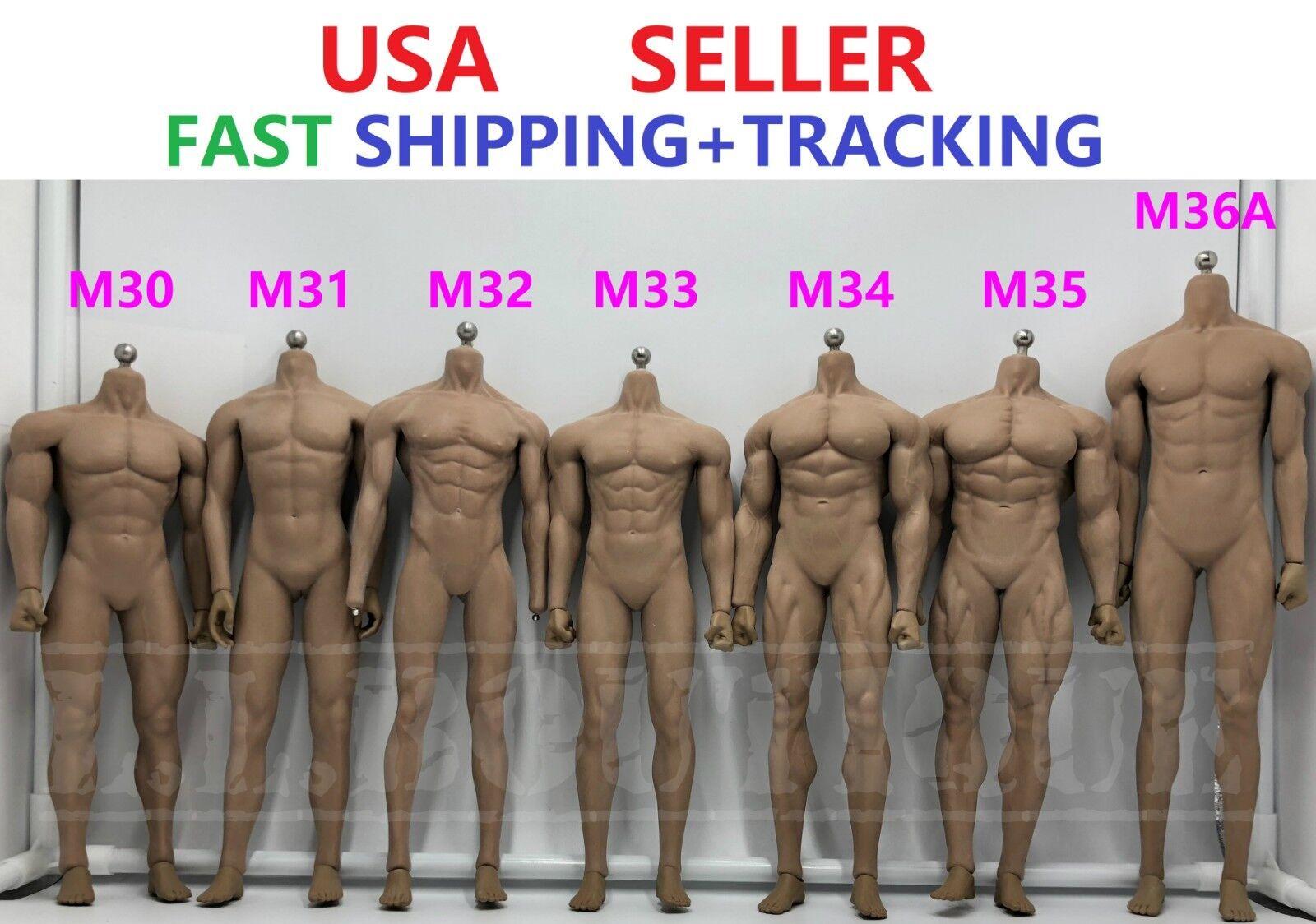 TBLeague PHICEN 1 6 Male Muscular Seamless Body M30 M31 M32 M33 M34 M35 M36A