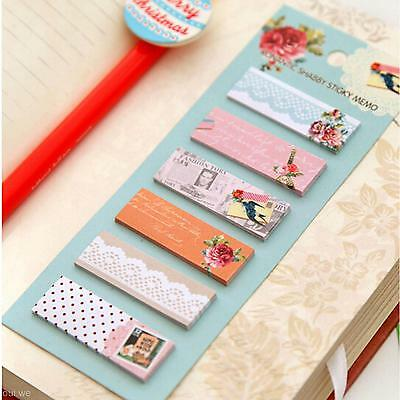 Cartoon Design Office Supply Bookmark Marker Memo Sticky Notes Sticker