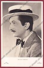 ENRICO VIARISIO 03 ATTORE ACTOR CINEMA MOVIE TORINO Cartolina 1938 CAPPELLO HAT