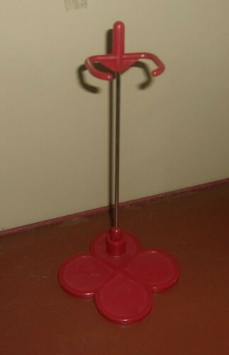 Burnt Red Blythe Doll Stand for 30 cm 12 inch Doll