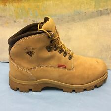 Herman Survivor Breaker Yellow Leather Waterproof Work Boots Steel Toe Mens 13