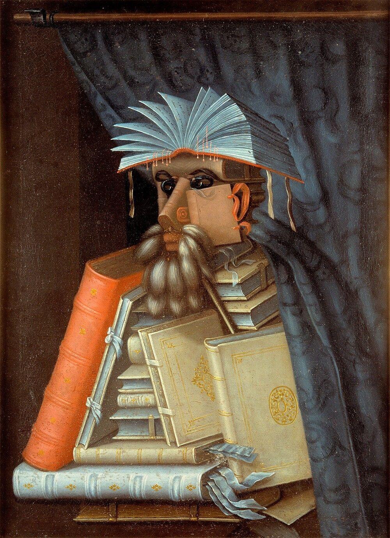 Guiseppe Arcimboldo    The Librarian  (1562) — Giclee Fine Art Print