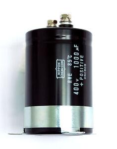 1pc dc electrolytic capacitor rwe 1000uf 400v 85 nippon chemi con image is loading 1pc dc electrolytic capacitor rwe 1000uf 400v 85 sciox Image collections