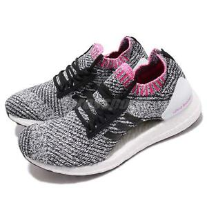 912f3473a8ca8 adidas UltraBOOST X White Black Shock Pink Women Running Shoes ...