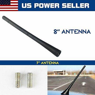 "8/"" Black Antenna Mast Reception Signal Replace Aerial For 2010-2016 Cadillac SRX"
