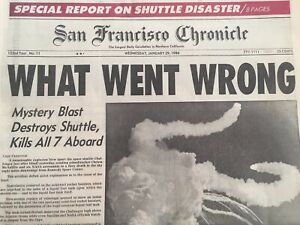 San-Francisco-Chronicle-Jan-20-1986-NASA-Space-Shuttle-Deaths-Newspaper