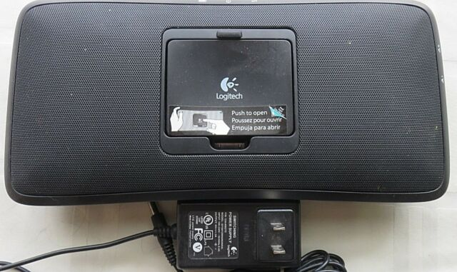 528cc36ab17 Logitech Portable Speaker S315i for iPhone iPod Audio Devices w/ Power  Adapter