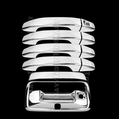 For CANYON 2014-18 COLORADO 15-2017 Chrome Covers Set 4 Doors w//out+Tailgate CAM