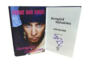 Signed Book - Unrequited Infatuations A Memoir by Stevie Van Zandt First Edition