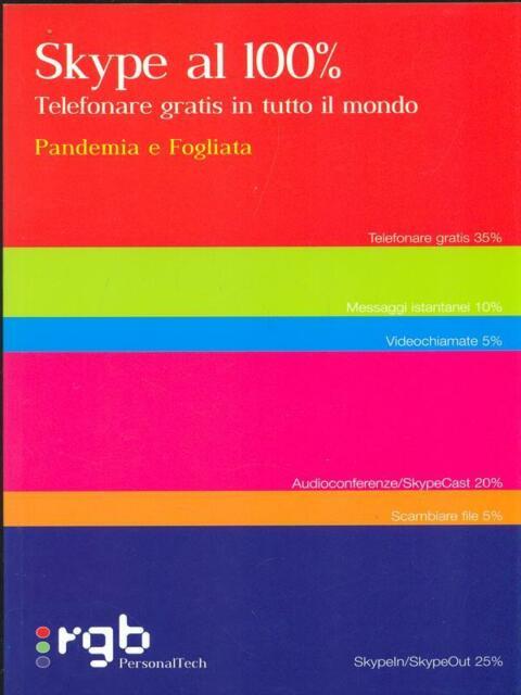 SKYPE AL 100%  PANGEMIA E FOGLIATA RGB 2006 PERSONAL TECH