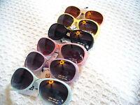 Little Girls Or Boys Sunglasses Kids Sunglasses W/.stripes So Adorable...new