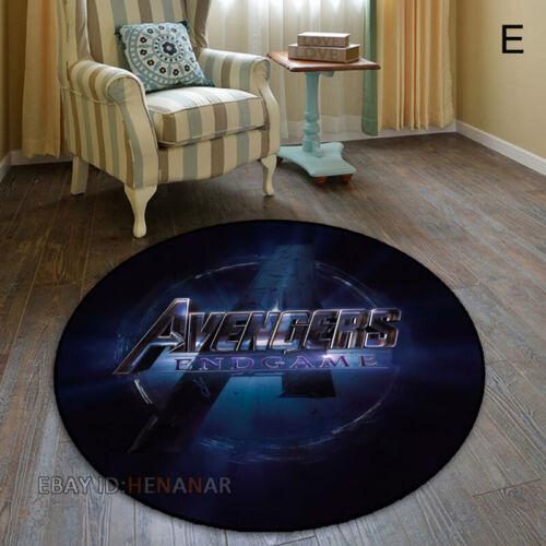 The Avengers Infinite War Circle Carpet Mat Home Decor Area Rugs Round Carpet