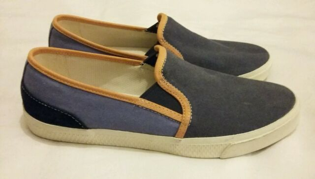 5e6154c9783 Timberland Hookset Camp Canvas Slip on Blue Mens Shoes 9118B D65 for ...