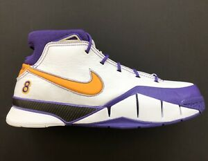 912fff31140 Nike Kobe 1 Pronto Purple Close Out Final Seconds Lakers AQ2728-101 ...