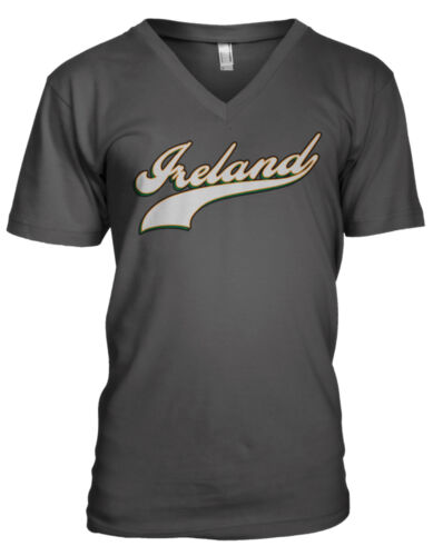 Ireland Country Irish Football Team Soccer Heritage World Men/'s V-Neck T-Shirt