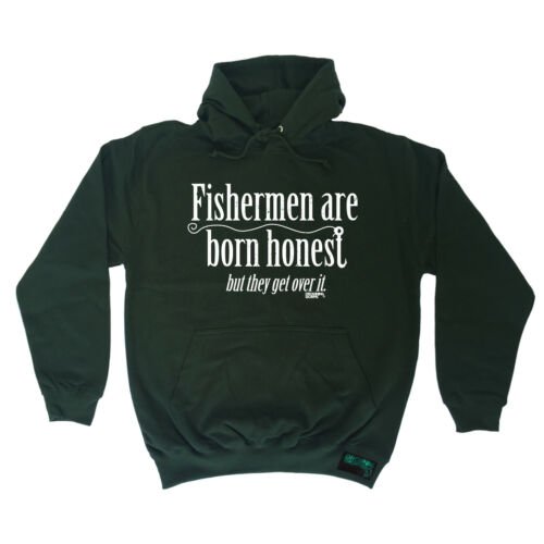 Fishmen Are Born Honest truite Worms Hoodie Hoody Birthday Poison Gear Fishing