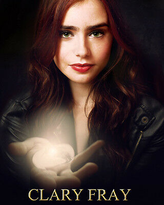 Collins, Lily [The Mortal Instruments City of Bones] (53320) 8x10 Photo