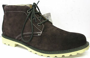 MENS-ROCKPORT-DARK-BROWN-LACE-UP-SMART-LIGHTWEIGHT-LEATHER-ANKLE-BOOTS-K61878