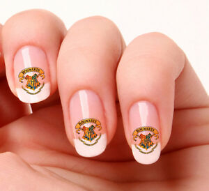 20 Nail Art Decals Transfers Stickers 255 Harry Potter Hogwarts