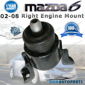 Fit-Mazda-6-RH-Engine-Mount-02-08-GG-GY-2-3L-Right-Hand-Auto-Manual-GJ6G-39-060E