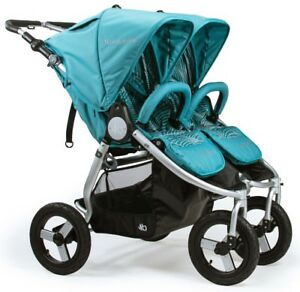 Bumbleride-Indie-Twin-All-Terrain-Twin-Baby-Double-Stroller-Tourmaline-NEW-2018