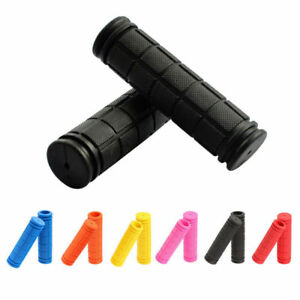 1Pair-Bike-Handlebar-Grips-Rubber-120mm-22-2-25-4mm-Soft-Bicycle-Bar-Grip-Cover