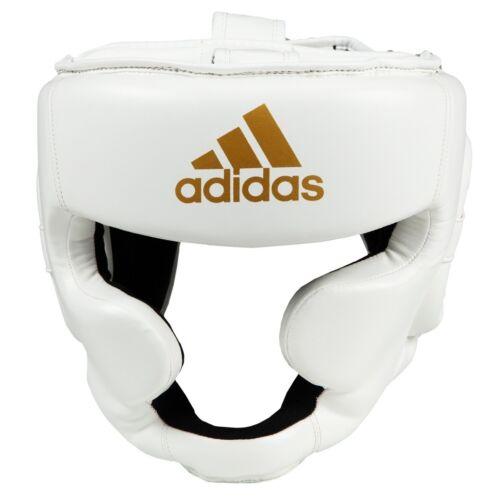 adidas Boxing FLX Full Face Head Guard, MMA, Muay Thai, White