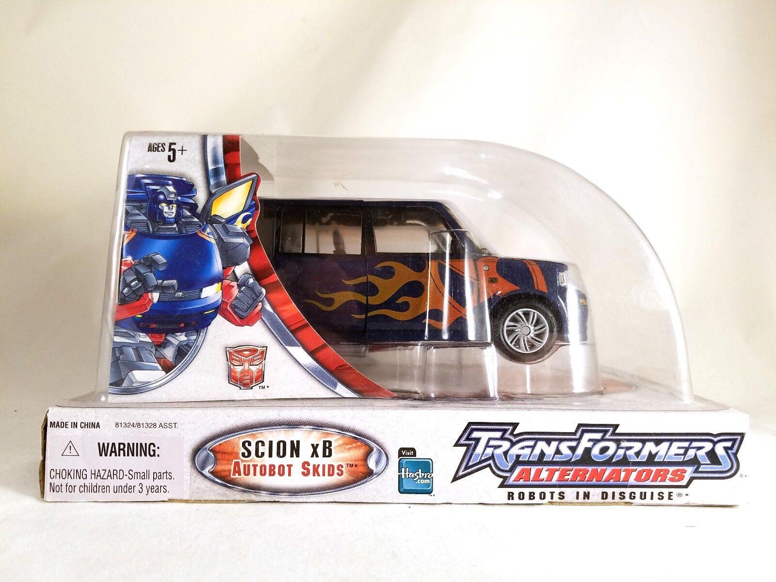 Transformers Alternators Scion Xb SKIDS Action Figure MISB