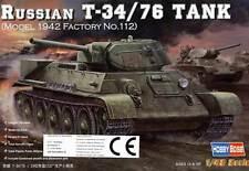 Hobby Boss Russo T-34/76 Serbatoio 1942 Nr.112 incl. Parti di acquaforte 1:48
