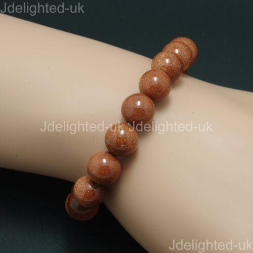 Natural Mixed Gemstone 8mm Round Beads Handmade Stretchy Bracelet Healing Reiki