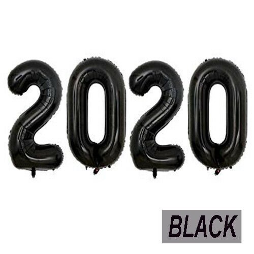 2020 Christmas Supply Foil Balloon Banner Happy New Years Eve Party Decor Sets**