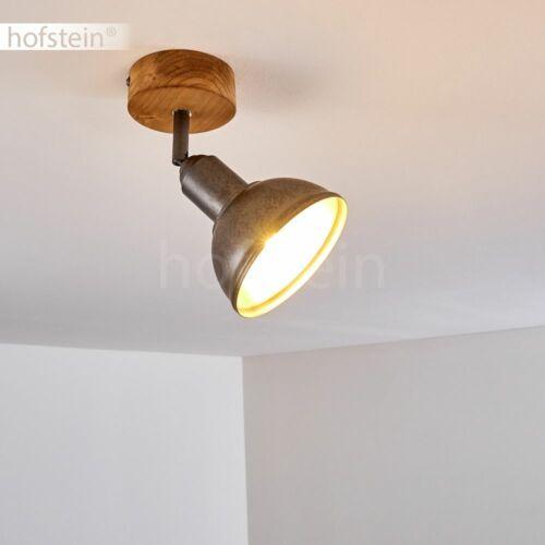 Retro Wand Decken Lampen Flur Strahler Holz Wohn Schlaf Zimmer Leuchten drehbar