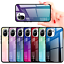 miniatura 1 - COVER per Xiaomi Mi 11 Lite CUSTODIA ORIGINALE Gradient Glass + VETRO TEMPERATO