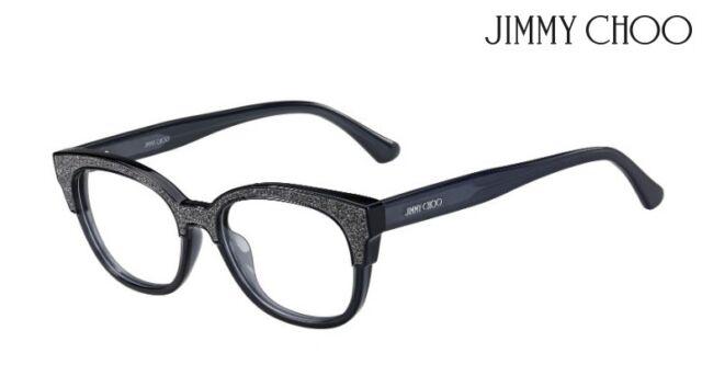 20d8fe7f4cb6 Jimmy Choo JC177 Dark Grey Women Authentic Eyeglasses for sale ...