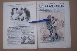 PETIT-JOURNAL-POUR-RIRE-no-494-1865-e-a-A-TRAVERS-PARIS-par-Grevin