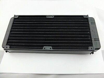 Aluminum Water Cooling Block Water cooled Row Heat exchanger For PC