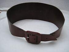 - AUTHENTIQUE  ceinture  CLAUDIA  STRATER  cuir  TBEG  vintage  à saisir