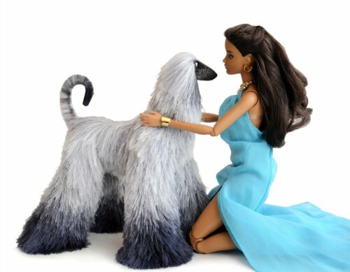 Collectibles Animals plush toy stuffed animals Barbie dolls pet afghan hound