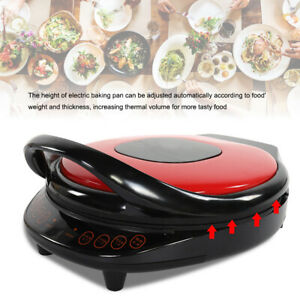 Electric Double Sided Twin Skillet Griddle Frying Pan