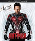 Ant-Man (Blu-ray Disc, 2015, 2-Disc Set, 3D Includes Digital Copy)