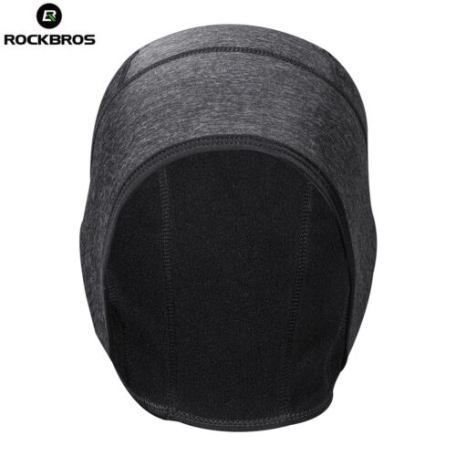 RockBros Riding Warmer Hat Winter Fleece Thermal Windproof Cycling Cap One Size