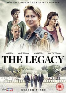 The-Legacy-Season-3-DVD-2017-Trine-Dyrholm-cert-15-3-discs-NEW