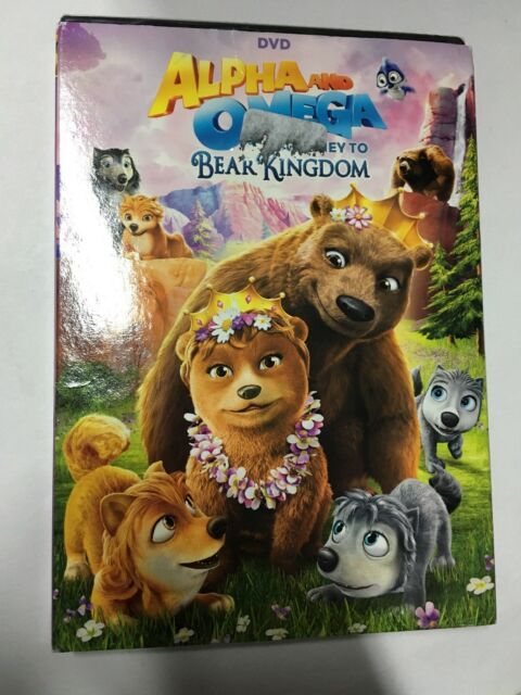 Alpha and Omega: Journey to Bear Kingdom (DVD, New With Slip Cover)