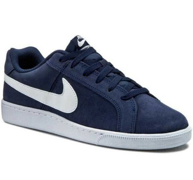 747e3e795aafab New Mens Nike Court Royale Suede Trainers Sneakers Navy Size UK9 EUR43 US10