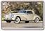 Große Acryl Oldtimer Klassisch Mercedes Kühlschrank Magnet