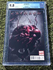 Carnage-1-Crain-Variant-CGC-9-8-2010-Marvel-Ships-free