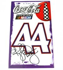Coca Cola Coke NASCAR Fenster Aufkleber USA Window Sticker Decal Nummer 44