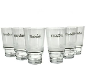 6er Set KLINDWORTH Gläser 0,3l Wasser Glas Becher Tumbler Saft Neu ~mn285 1114