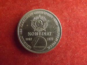 *münze/medaille Ca.36mm * Kombinat 1967-1977 / Wilhelm Pieck * (box 1)